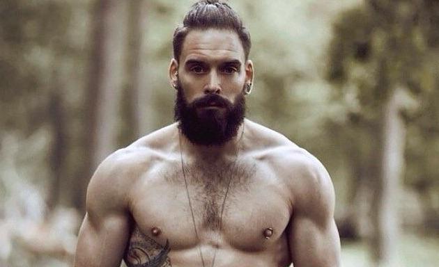 muž s bradou
