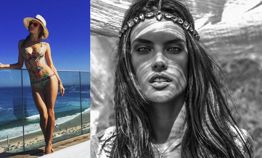 Alessandra – krásna, zmyselná a sexi modelka Victoria Secret
