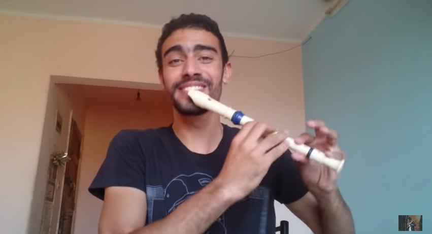 Beatbox v doprovode flauty? Mladík z Egypta Vám to ukáže! – VIDEO