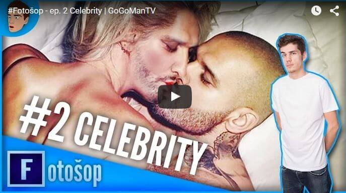 Celebrity vo photoshope v podaní Youtubera GoGa