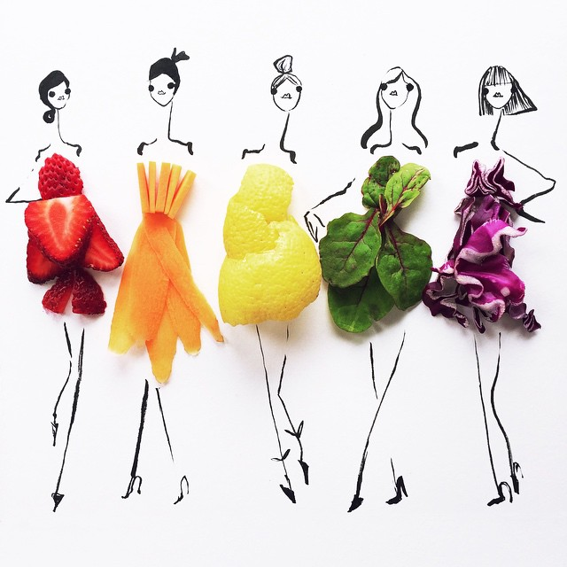 Fantastické návrhy s aplikáciou zeleniny
