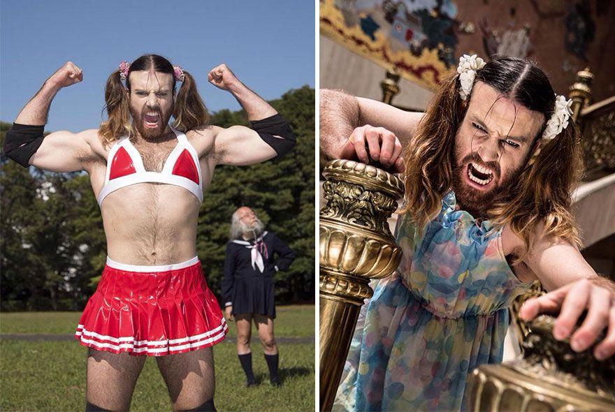 Spoznajte prezlečeného wrestlera a metalového speváka v jednom – Ladybeard
