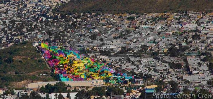"""Street art s nevídanými rozmermi! Vláda a mladí ľudia sa spojili a vytvorili svoj """"sídliskový sen""""!"""