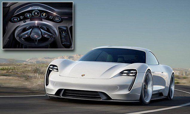Porsche odpovedá TESLE! Nové Porsche Mission E bude poriadne nadupaný elektromobil!