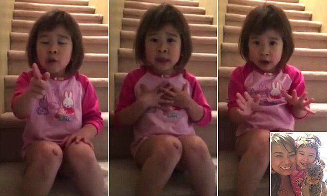 """Len 6-ročná Tiana natočila rozvedeným rodičom srdcervúci odkaz, v ktorom im okrem iného vraví: """"Chcem aby ste boli priateľmi"""""""