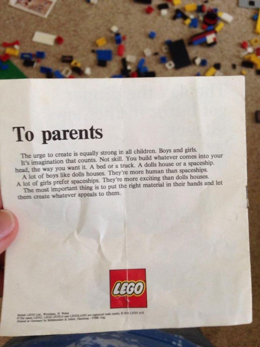 Spoločnosť LEGO v minulosti napísala rodičom nečakaný list! O čo išlo?