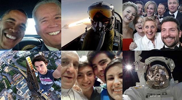 Najslávnejšie selfie na svete! V oblakoch či s hviezdami!