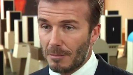 David Beckham mal slzy v očiach. Čo ho tak dojalo?