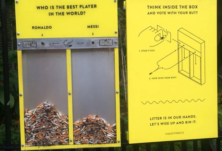 Geniálny nápad, ako vyčistiť ulice od ohorkov a žuvačiek!