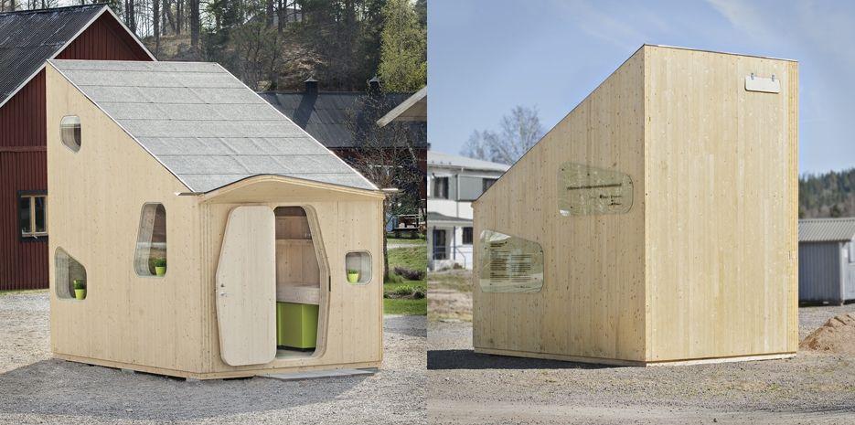 Švédi navrhli lacný a moderný dom pre študentov!