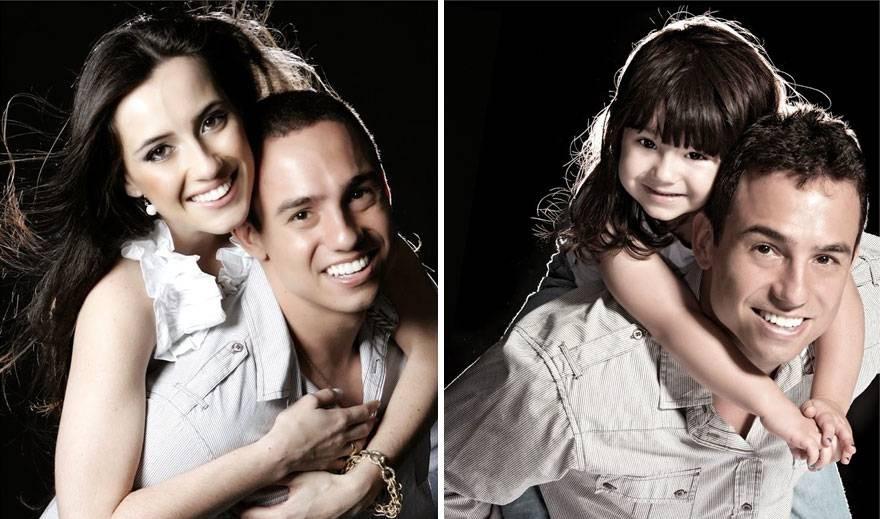 Otec vzdal hold svojej zosnulej žene týmito fotkami s dcérkou