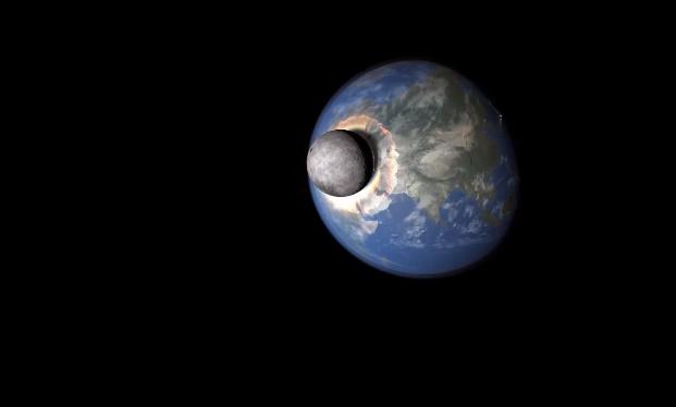 Takáto apokalypsa nás čaká, ak by narazil do Zeme Mesiac! VIDEO