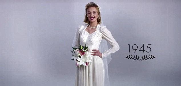 Svadobné šaty a 100 rokov vývoja v 3 minútach!