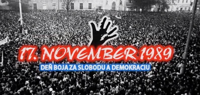 17. november. Za akú slobodu riskovali ľudia svoje životy? Je čas zamyslieť sa! – blog
