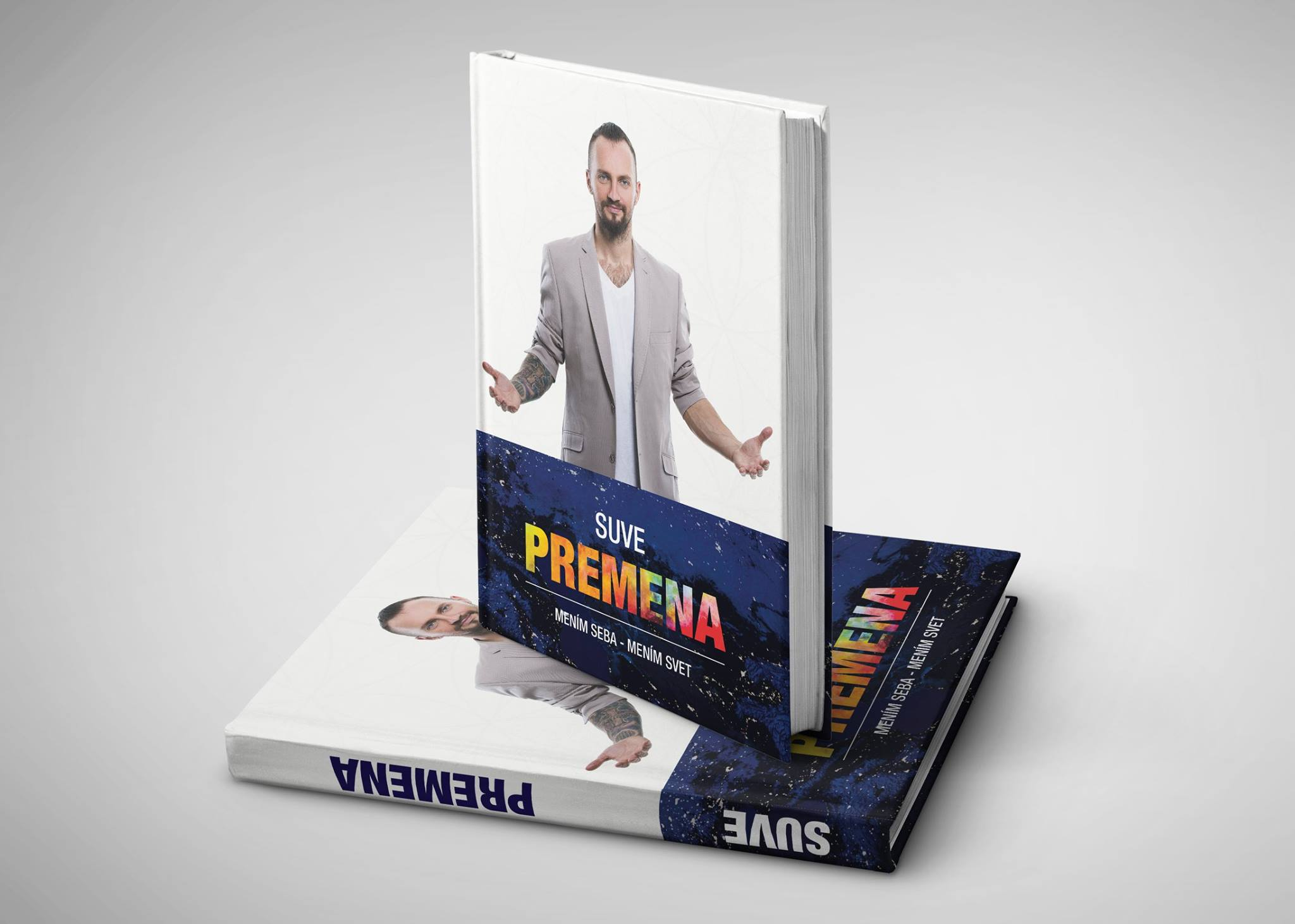 Suvereno promuje pripravovanú knihu Premena