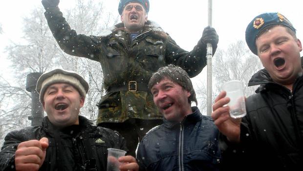 Vtipne opísané stupne zimy pomocou ruského národa :D