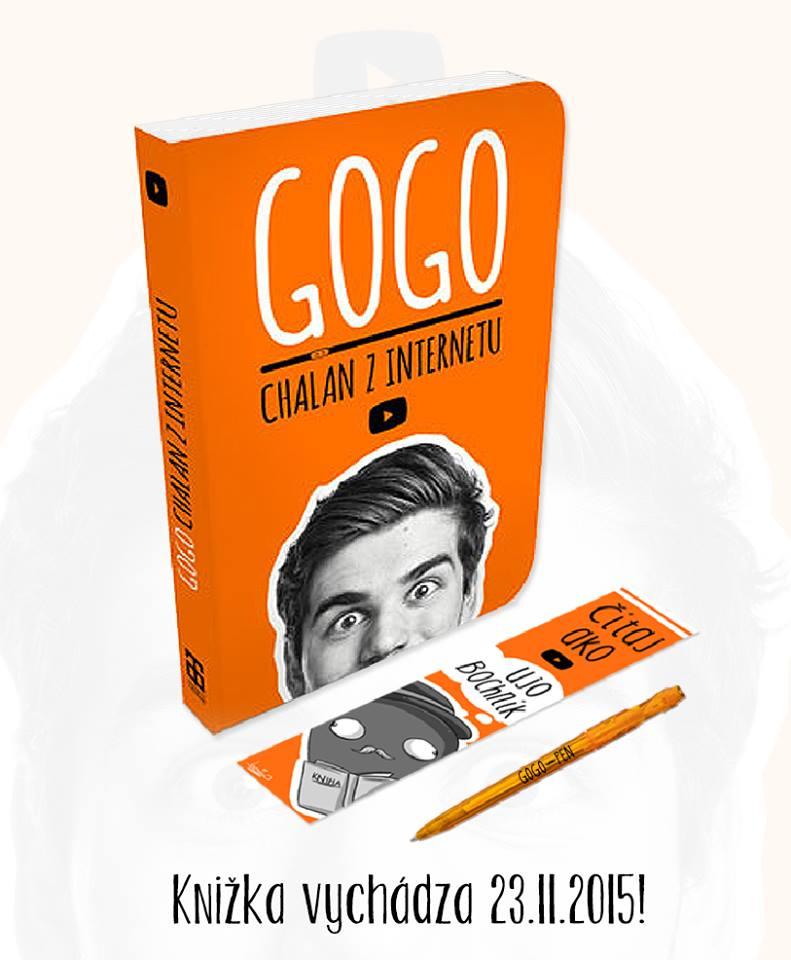 Gogo, chalan z internetu, vydáva knihu!