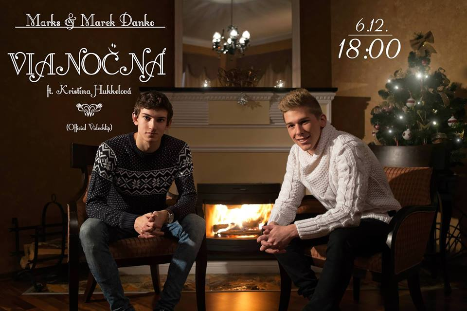 Producent Marek Danko,Kristína Hukkelová a Marks zložili krásnu vianočnú pieseň