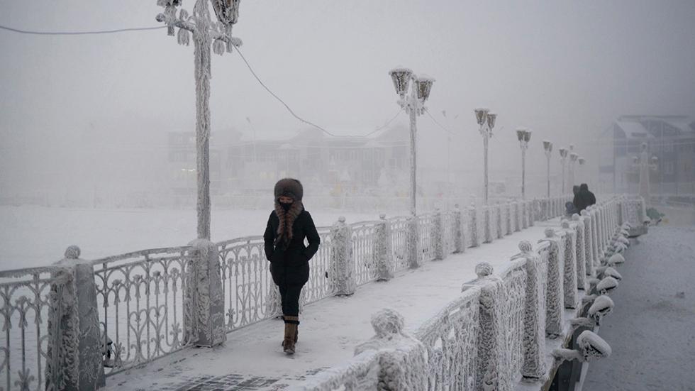 Z týchto fotiek mrazí! Toto je najchladnejšie miesto na zemi obývané luďmi!