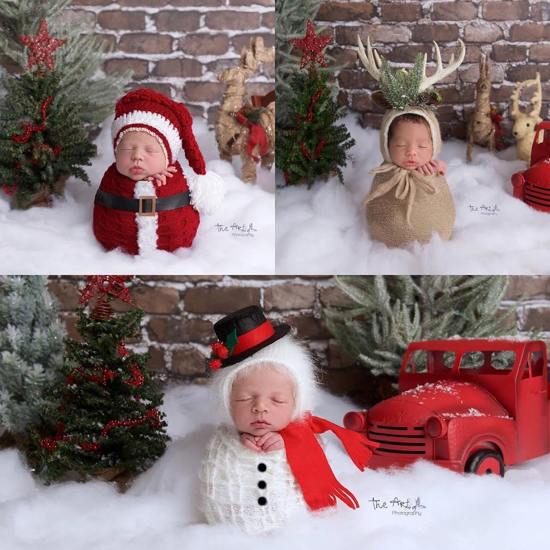Deti sú tým najkrajším darom. Tieto vianočné fotky to na 100% potvrdzujú