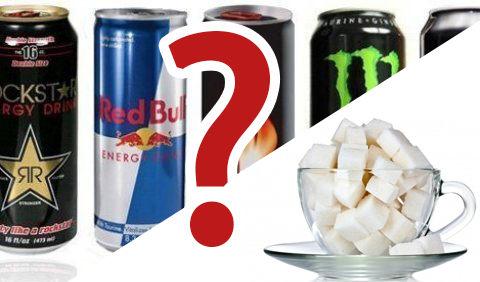 Môžeme nahradiť energetický nápoj za obyčajnú vodu s cukrom? ÁNO!