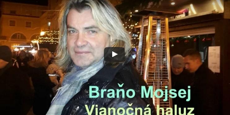 Braňo Mojsej naspieval Vianočnú pieseň, ktorá sa od ostatných poriadne odlišuje