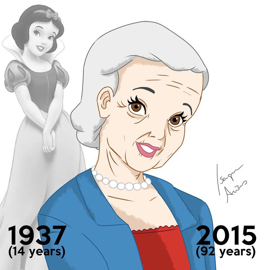 Pozrite sa, ako po rokoch zostarli Disney princezné