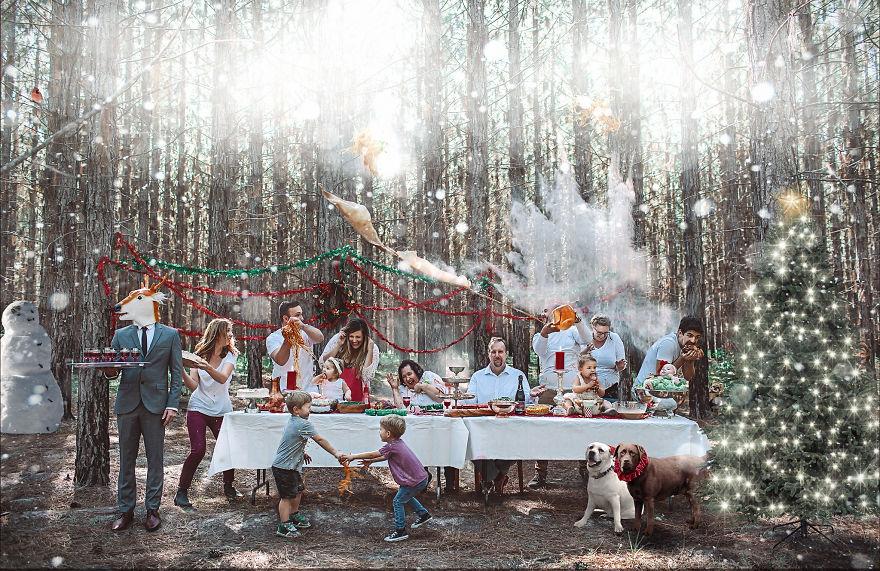 Originálne vianočné pozdravy rodiny Macaulay
