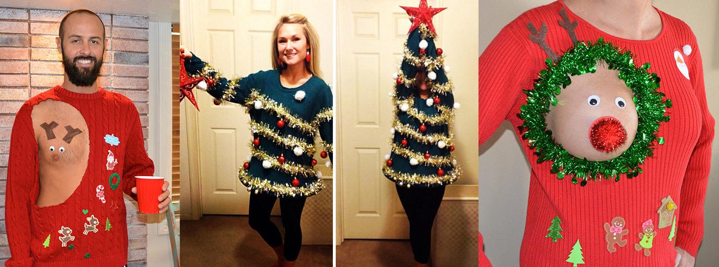 Vianočnú náladu vám môže vykúzliť aj oblečenie. Týmto kúskom to však zaručene nevyšlo