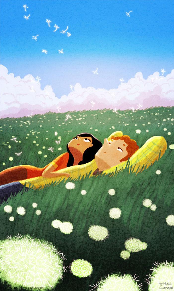 Láska a dobro sú všade okolo nás! Nasledujúce ilustrácie vás o tom presvedčia