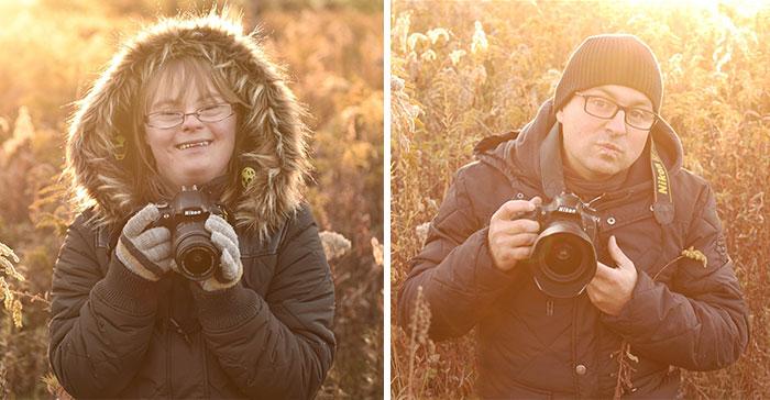 Fotograf verzus dieťa s Downovým syndrómom! Kto urobil krajšie fotky?