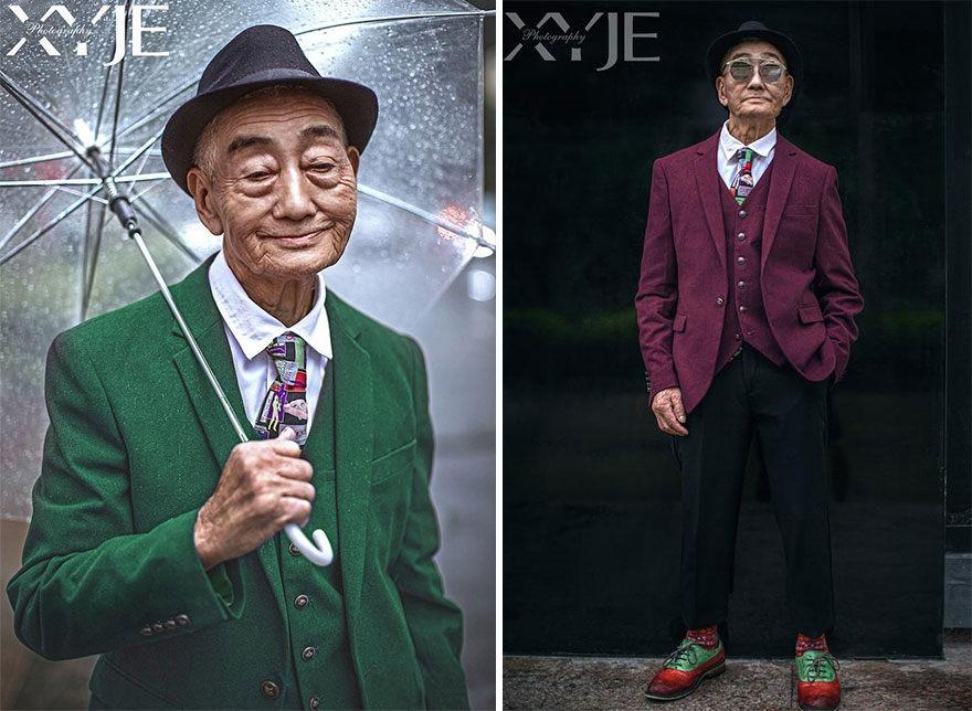 Starček sa vypracoval z farmára za módnu ikonu v 85-tich rokoch. Je symbolom toho, že všetko sa dá