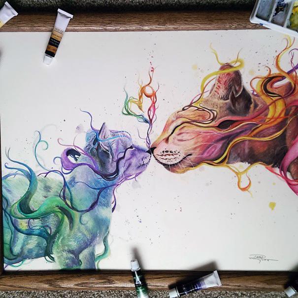 Pozrite si nádherné kresby 17-ročnej umelkyne. Tak tomu sa hovorí talent!