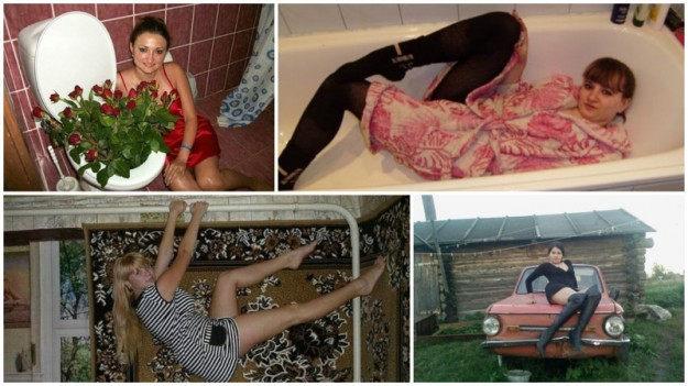 30 fotografií, na ktorých chceli ženy vyzerať sexy! – RUSKO