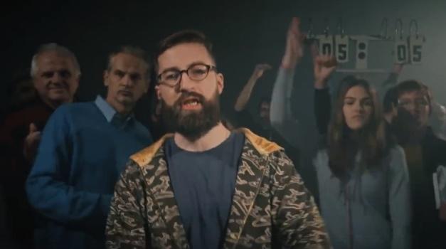 Slovenský poslanec NRSR Poliačik za SaS sa dal na rap! Originálny spôsob, ako zaujať mladého voliča?
