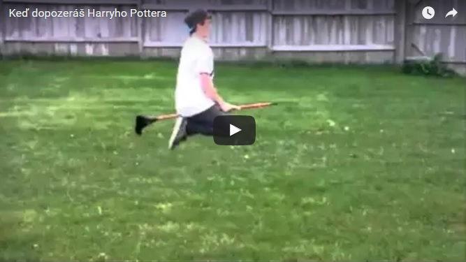 Dopozeráš Harryho Pottera a naozaj letíš na metle! DÁ SA TO!