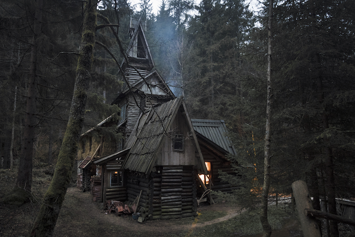 A magical cabin converted from a watermill by a Serbian painter whose father owned and operated many mills along this Bosnian river. http://cabinporn.com/post/83536928947/a-magical-cabin-converted-from-a-watermill-by-a
