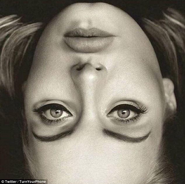 Bizarne obrátený obrázok Adele koluje internetom!