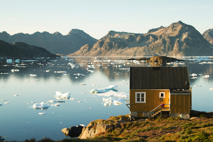 East Greenland. Photographer Submitted not on CP.com