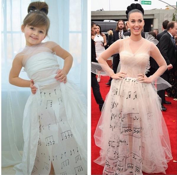 Kreatívna mamička vytvára pre svoju dcéru outfity inšpirované celebritami