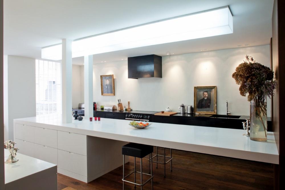 Kuchyna ako cast celeho interieru