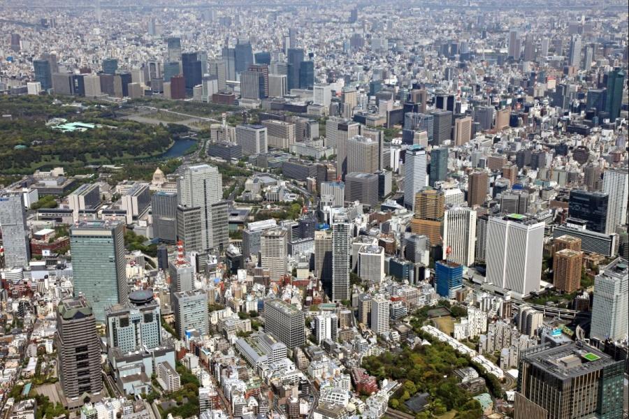 Tokyo, Japan — 1945 and 2011