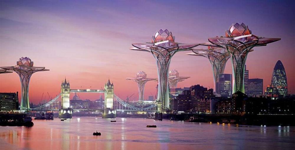 Projekty budúcnosti vyrážajú dych! Viaceré z nich totiž pripomínajú sci-fi filmy a nie realitu