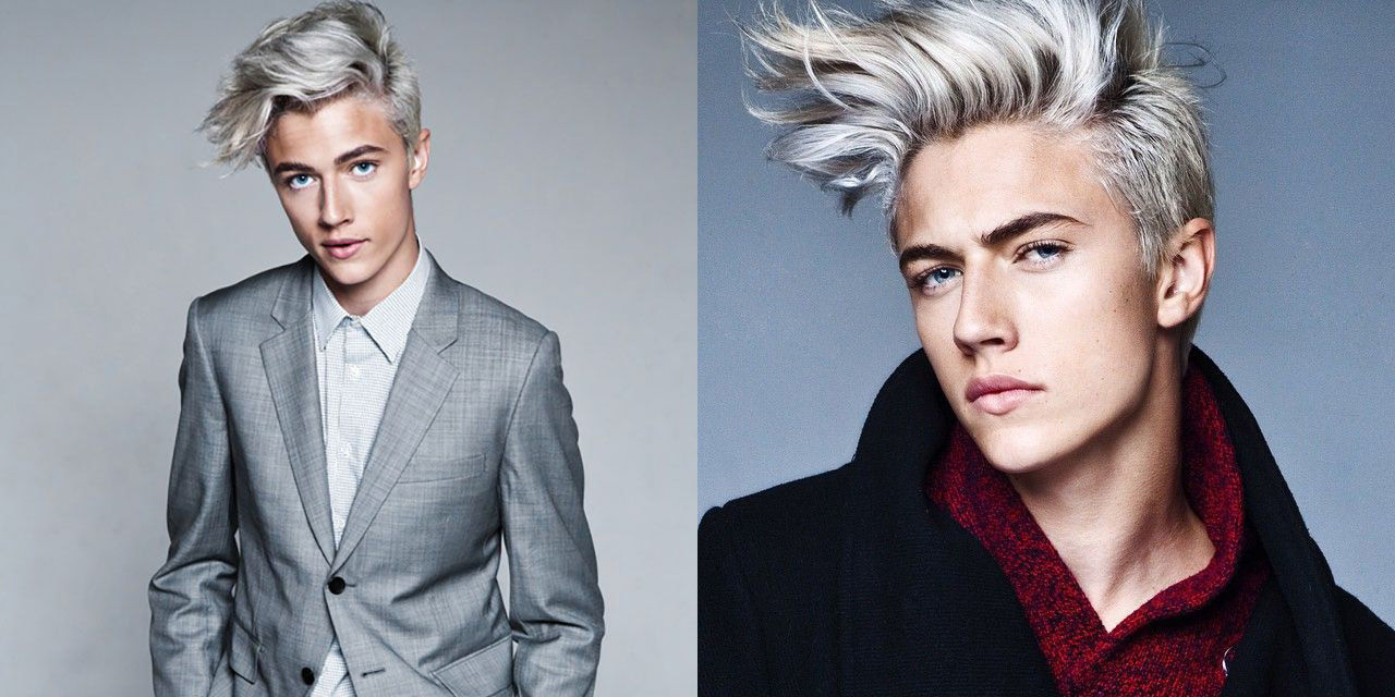 Prenikavé modré oči, svetlé vlasy a iba 17 rokov! To je Lucky Blue, najžiadanejší model tohto obdobia!