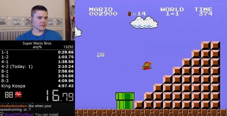 Rekord v hre Super Mario prekonaný! Rýchlejší bol už iba stroj!