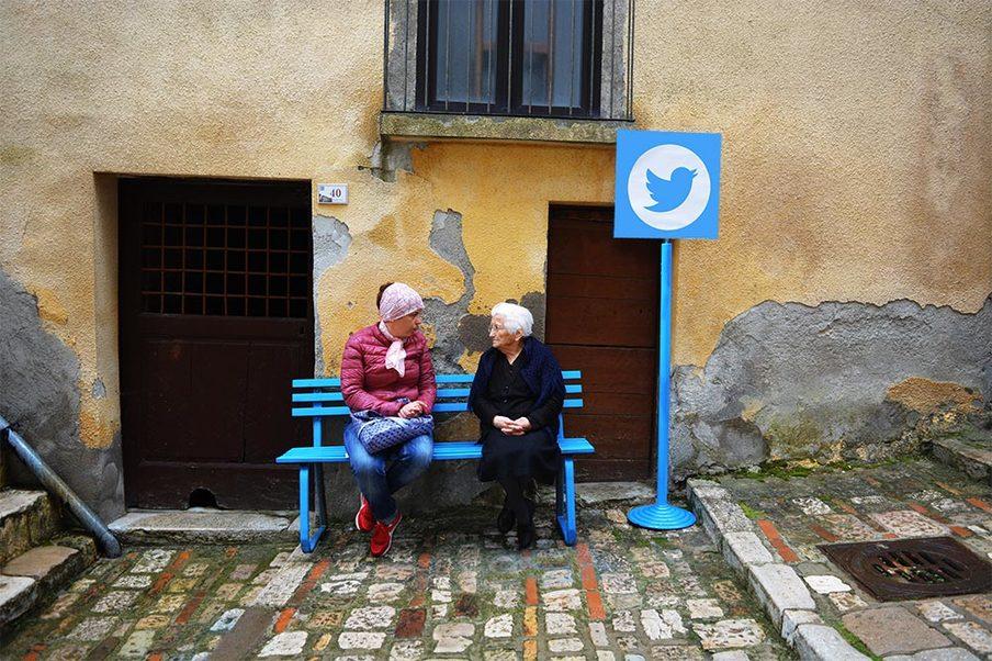 V talianskom meste ožil internet! A to doslova! Milé fotografie mladých aj dôchodcov vás o tom presvedčia!