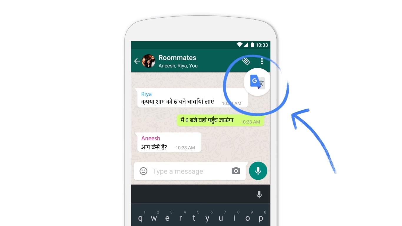 Google Translate bude fungovať v ktorejkoľvek Android aplikácií