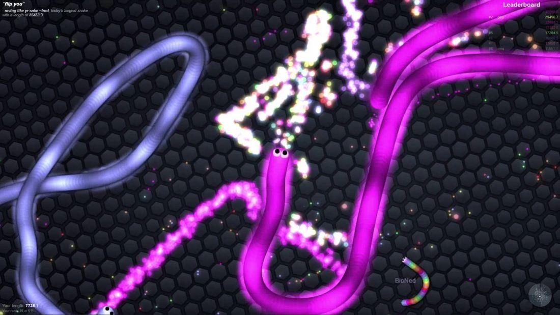 Chytľavá online hra Slither.io, ktorá ti nedovolí prestať hrať!