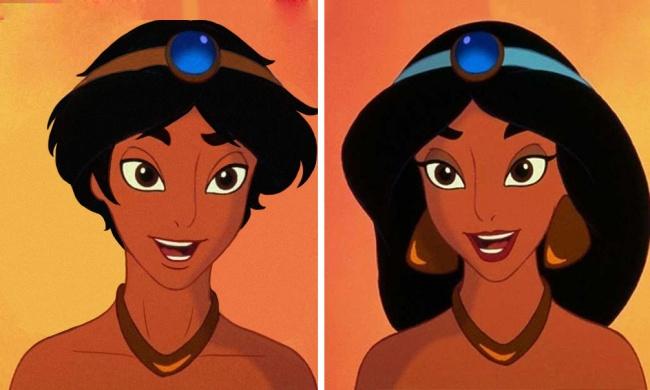 Známe Disney princezné v mužskom prevedení! Takto by zmužneli…