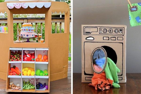 DIY: 11 kreatívnych nápadov ako vytvoriť z kartónu perfektnú hračku pre deti